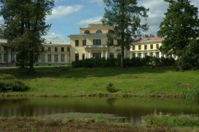 Усадьба Марьино имение Строгановых-Голицыных Адрианово