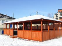ЮККИ Парк спорта и отдыха питомник-вольер с дальневосточными оленями