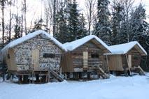 Домики в Лужском районе Мшинское болото дача писателя В.Набокова и домик Станционного Смотрителя