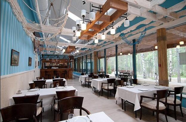Загородный клуб ОРЕХ рыбалка сквош ресторан Озерный.